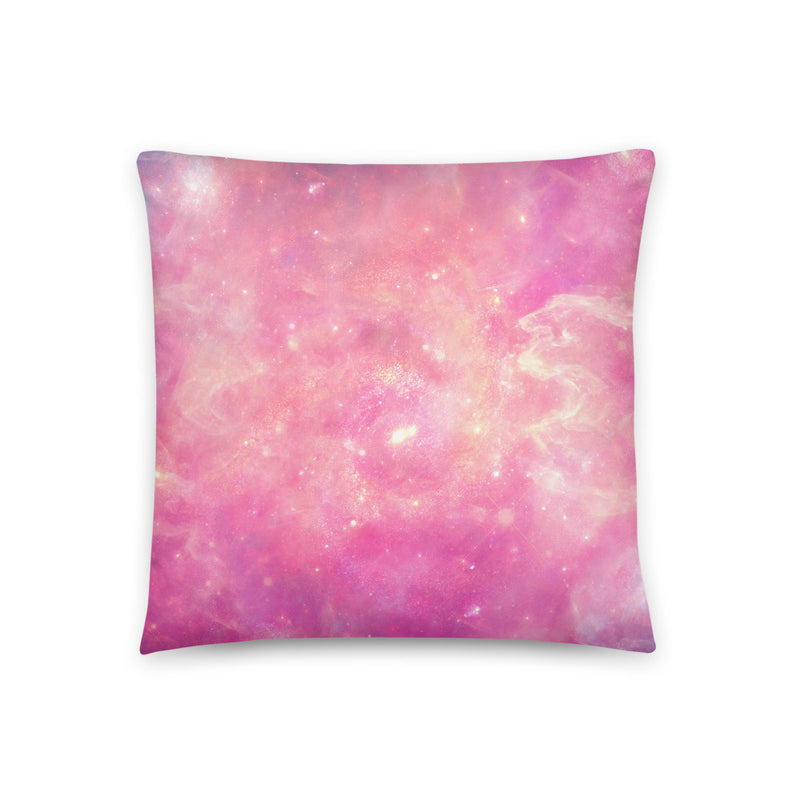 Pink Galaxy Pillow