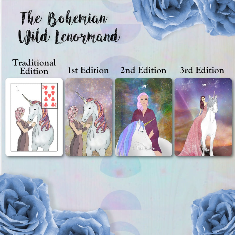 PRE-ORDER The Bohemian Wild Lenormand 3rd Edition