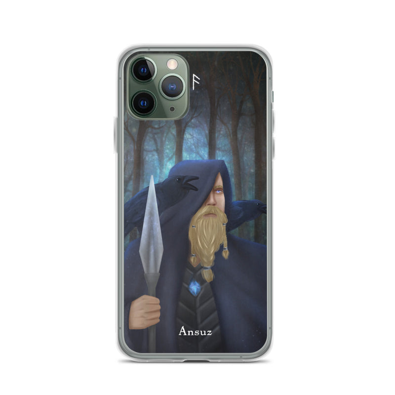 Ansuz Rune iPhone Case