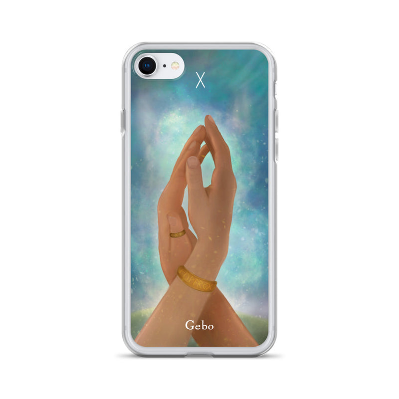 Gebo Rune iPhone Case