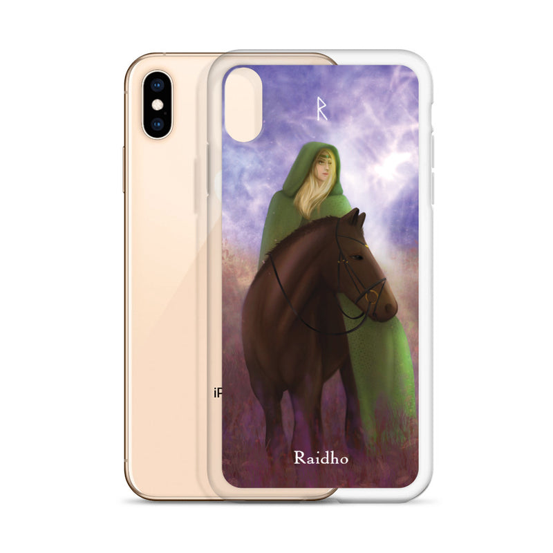 Raidho Rune iPhone Case