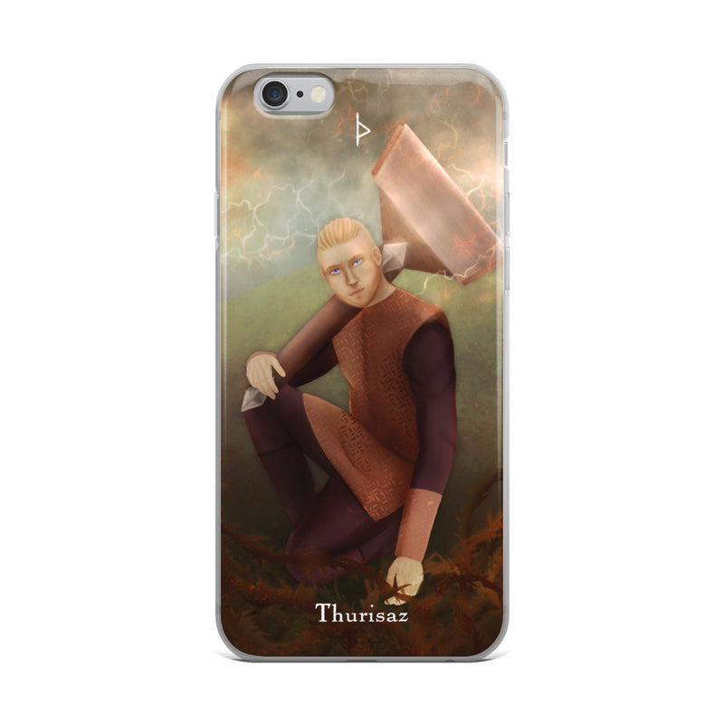 Thurisaz Rune iPhone Case