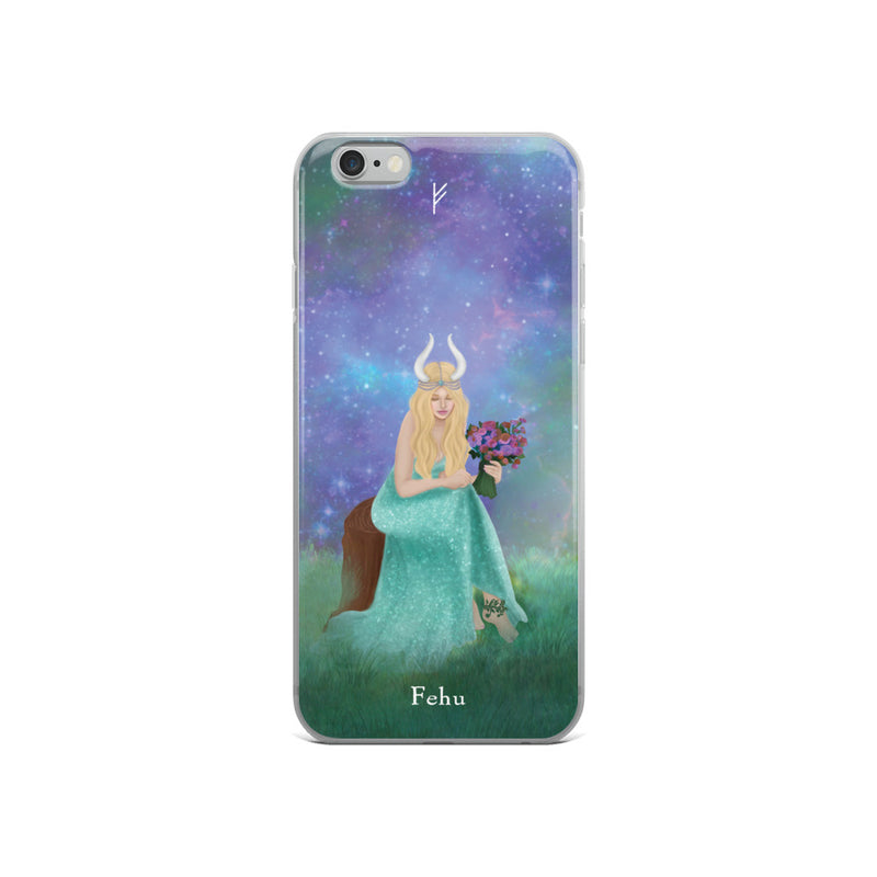 Fehu Rune iPhone Case