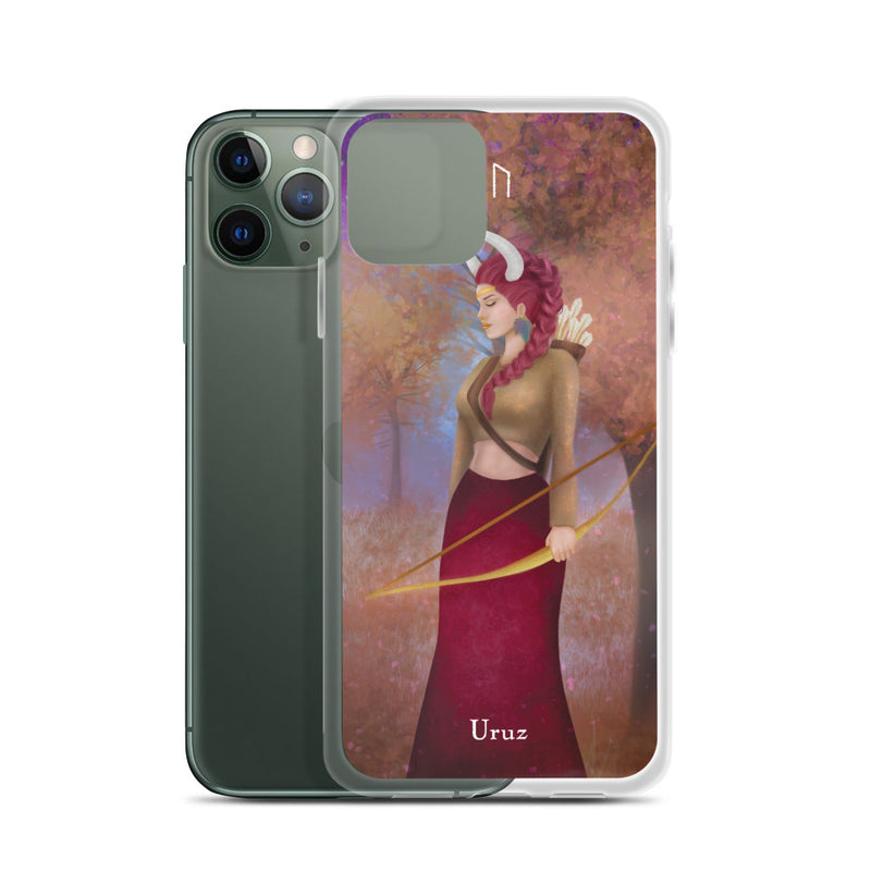 Uruz Rune iPhone Case