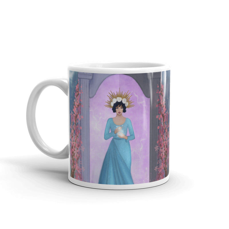 The High Priestess White Glossy Mug