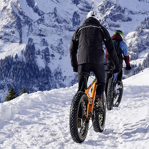 bici fat snow