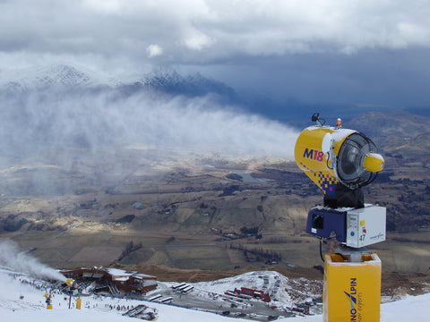 snow machine - how do ski resorts make snow