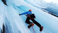 learn how to do ice climbing