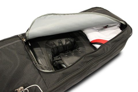 snowboard bag with pocket for boots