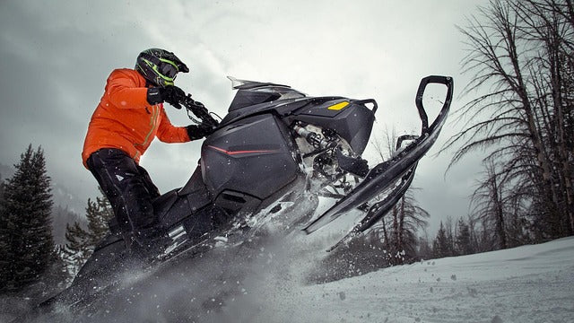 how much does snowmobile weight