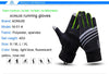 AONIJIE Unisex PU Leather Gloves