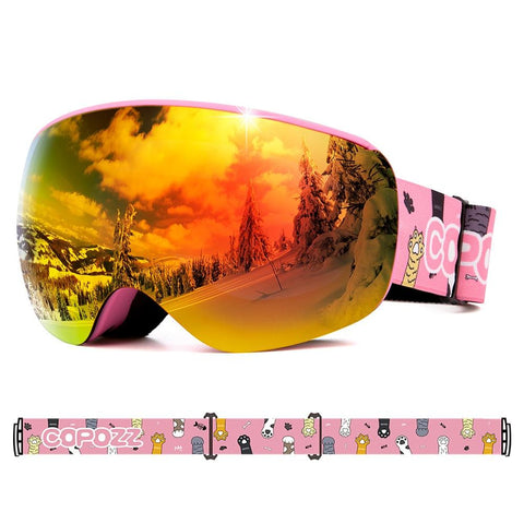 COPOZZ Childrens Ski Goggles - Kid's