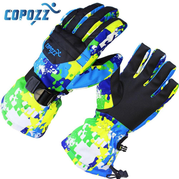 COPOZZ Colorful Skier Gloves