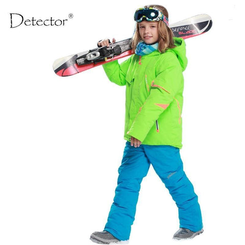 DETECTOR Extreme Conditions Ski Suit For Kid's