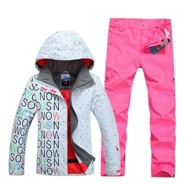 GSOU SNOW Jacket / SNOWY OWL Winter Ski Snowboard Pants - Women's