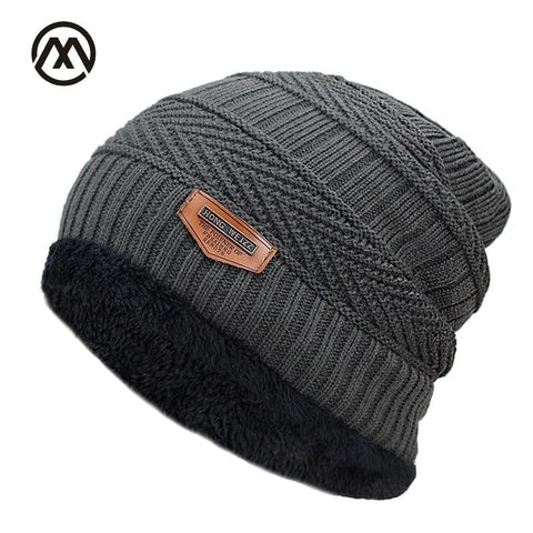 MAKEFGE Fleece Lined Beanie