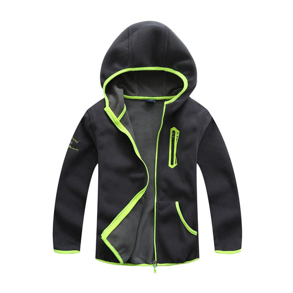MOOAIBEI Boys Fleece Jacket