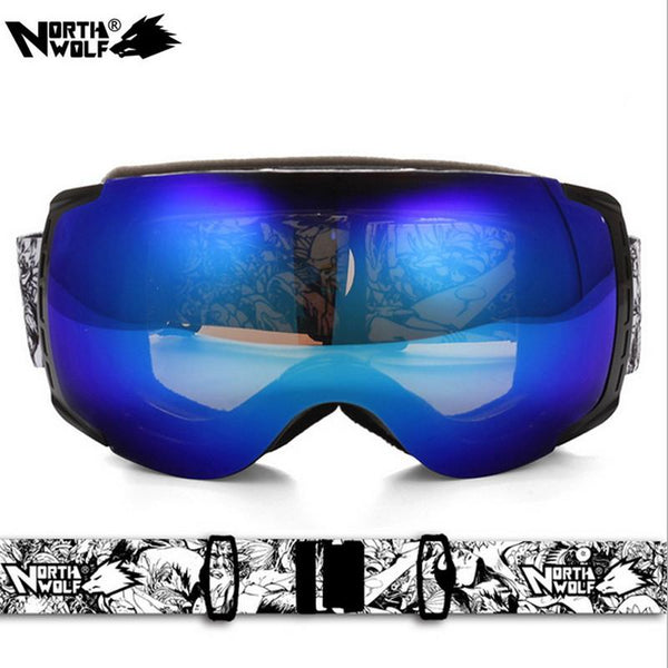 NORTH WOLF SPORT Cheap Snow Goggles