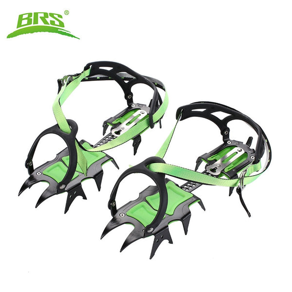 14-Point Manganese Steel Strap On Crampons