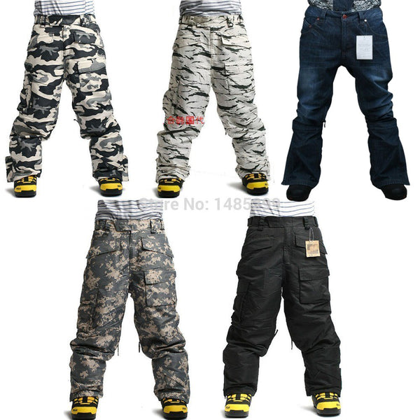 SOUTHPLAY Snow Camo Pants
