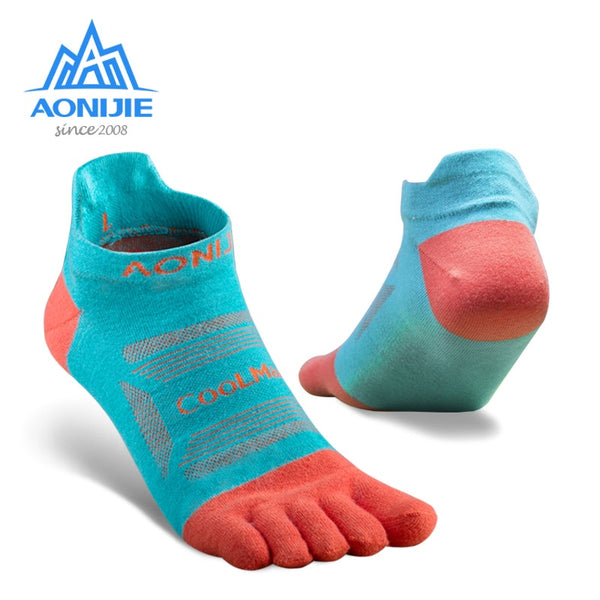 AONIJIE Ankle Toe Socks For Running (3 Pairs)