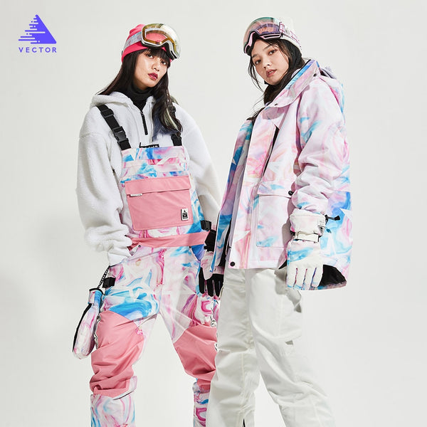 VECTOR Winter Thermal Snowboardanzug - Damen