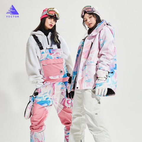 VECTOR Winter Thermal Snowboard Suit - ผู้หญิง