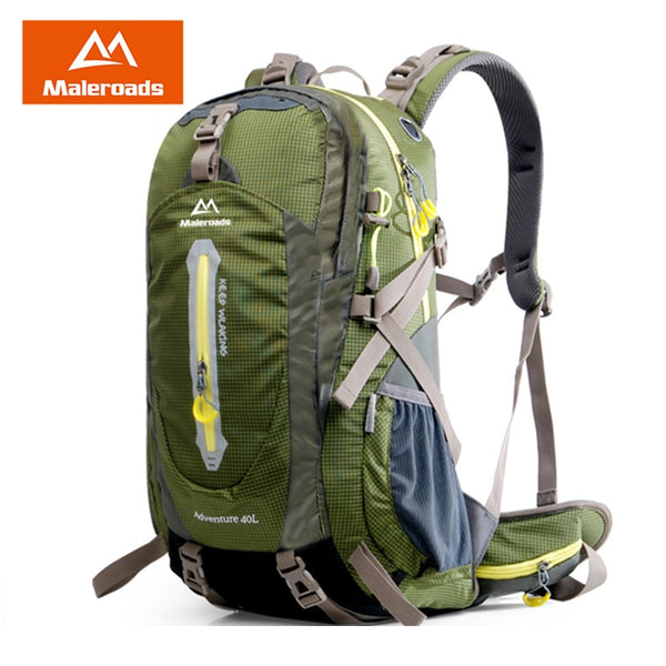 MALEROADS 40L, 50L Traveler Backpack
