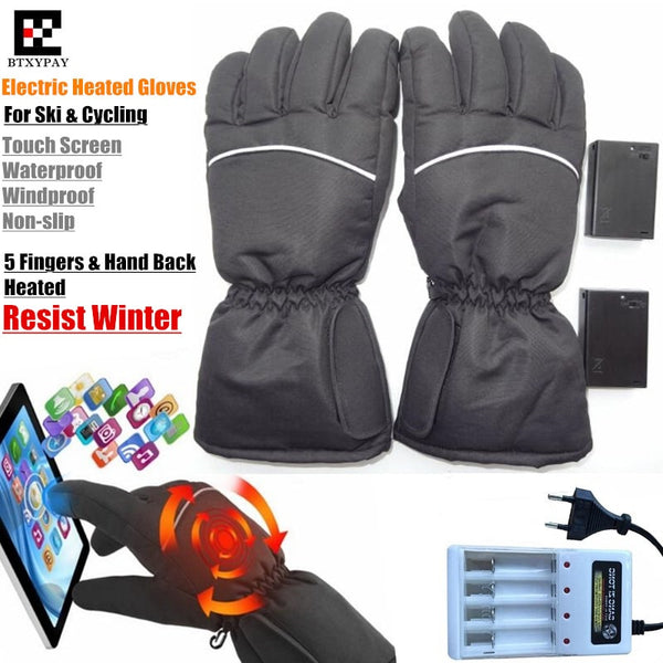 BTXYPAY Heated Snowboard Gloves