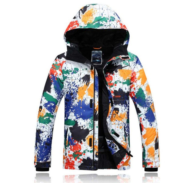 GSOU SNOW Warme Winter Ski Snowboardjacke