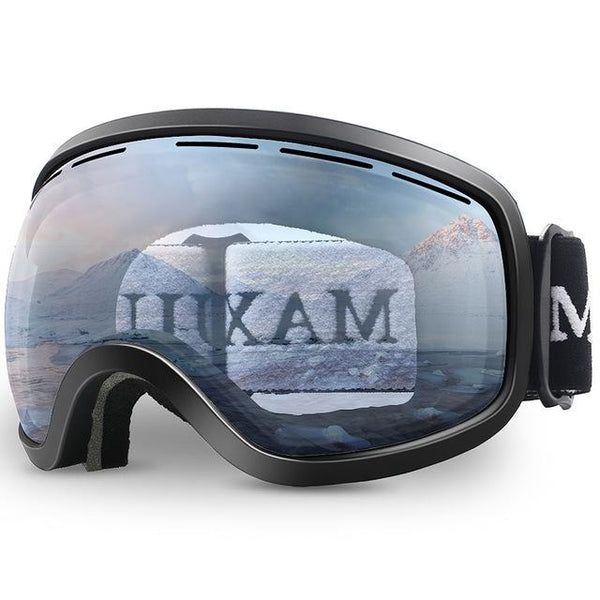 ROBESBON Double Lens Ski Goggles With FREE CASE