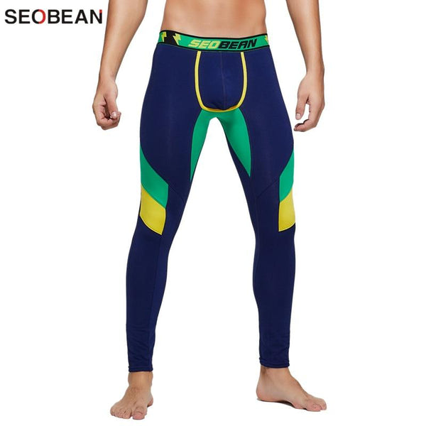 SEOBEAN Mens Colorful Leggings