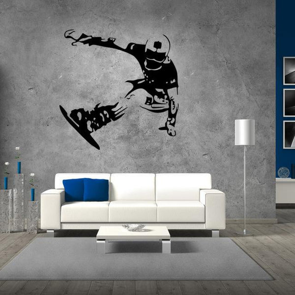 Snowboard Wall Art Decal