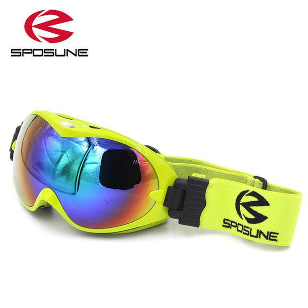 SPOSLINE Anti Fog Junior Ski Goggles - Kid's