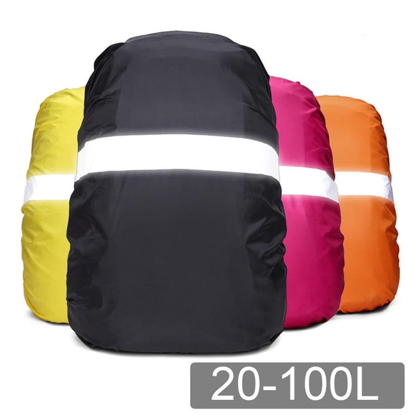 VKTECH 20-70L Reflective Waterproof Backpack Cover