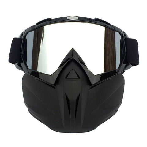 WOLFBIKE Ski Goggles with Face Mask