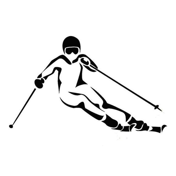YOJA Ski Sport Wall Decal