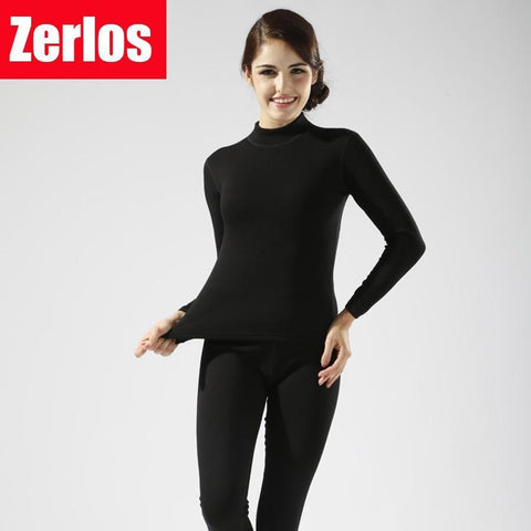 ZERLOS Thermal Underwear Set - Women's