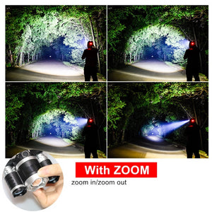 Zoomable LED Headlamp - Bee Valid
