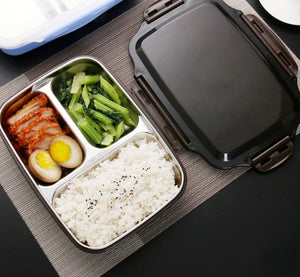 Stainless Steel Thermal Lunch Box - Bee Valid