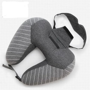 Neck Pillow + Eye Mask Set - Bee Valid