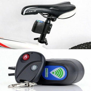Wireless Remote Control Vibration Bicycle Security Lock - Bee Valid