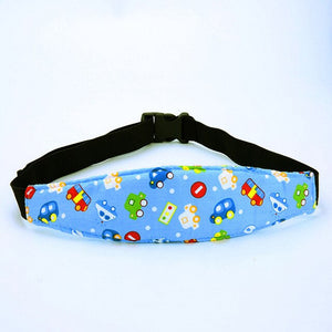 Baby Car Nap Head Band - Bee Valid