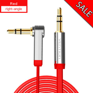 3.5 mm 90 Degree Right Angle AUX Cable - Bee Valid