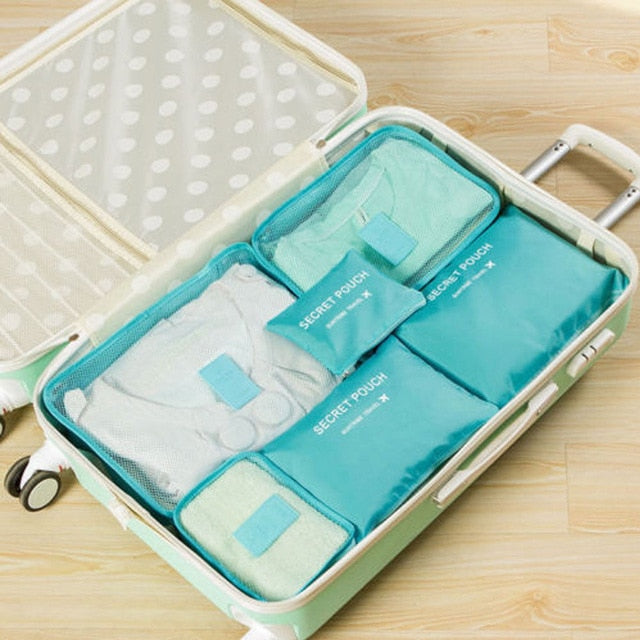 Luggage Organizer Storage Bags - Bee Valid