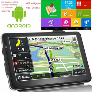 Android Quad Core Car GPS - Bee Valid