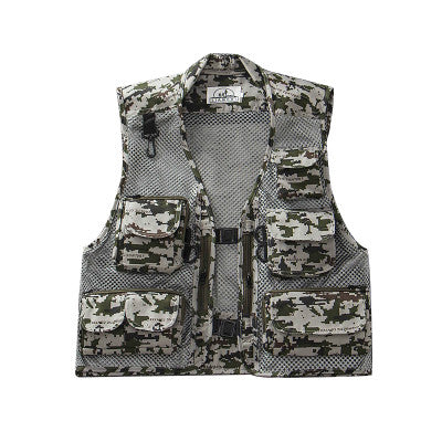Ultralight Fly Quick-Drying Mesh Vest - Bee Valid