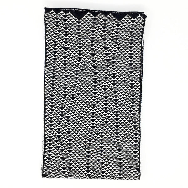 Rule 54 Scarf #35, Elementary Cellular Automata Knit - second