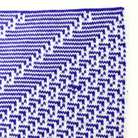 Rule 41 Scarf #208, Elementary Cellular Automata Knit - second
