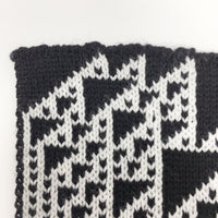 Rule 110 Scarf #57, Elementary Cellular Automata Knit - second